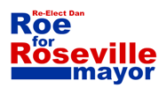 Roe for Roseville Logo