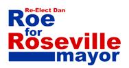 Roe for Roseville Logo